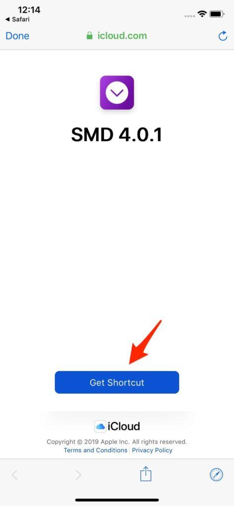 โหลดคลิปลง iPhone ด้วย Shortcuts