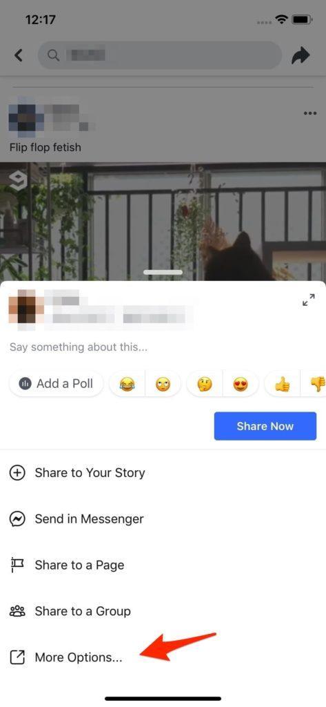 ดาวน์โหลดคลิปจาก Facebook ลง iPhone