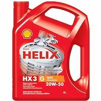 น้ำมันเครื่อง เชลล์ Shell Helix HX3 เบอร์ 20W-50
