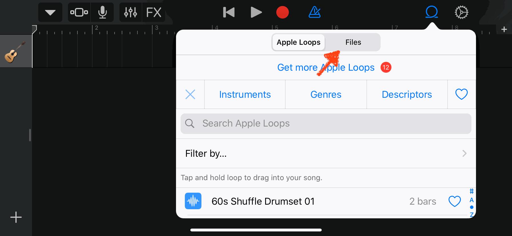 10) เลือกที่หัวข้อ Files