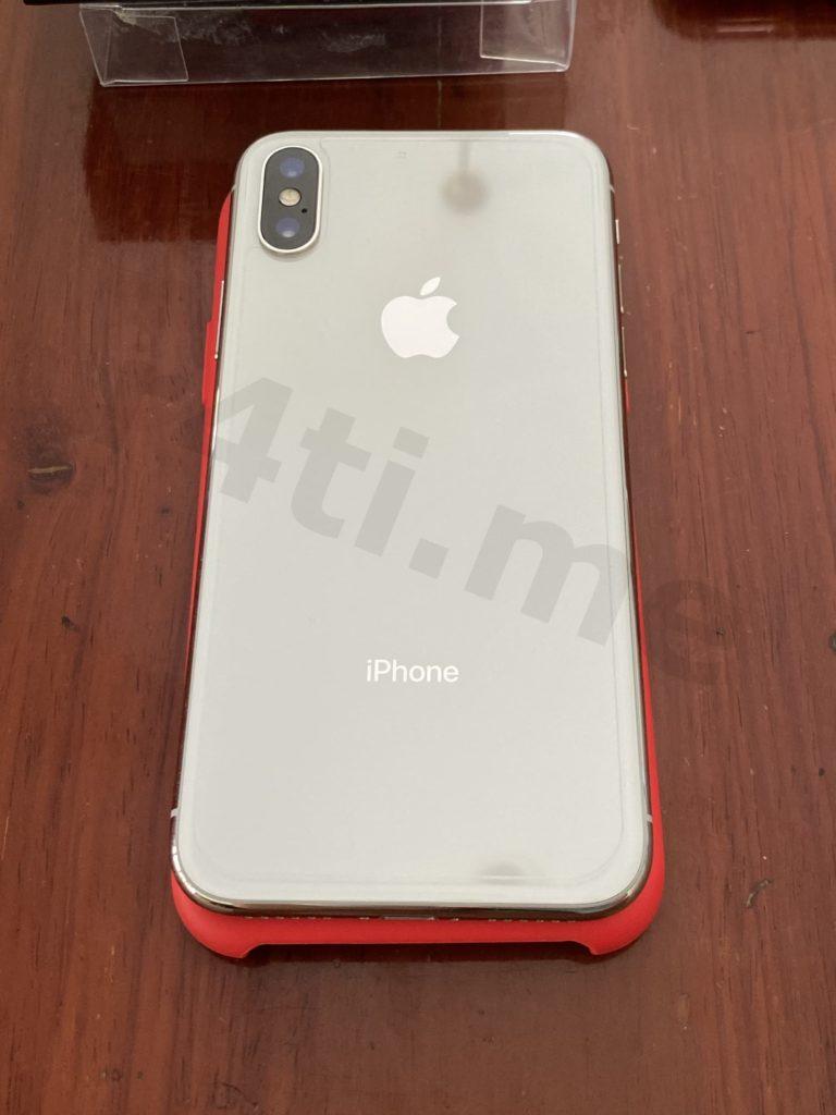 iPhone X สีขาว มือสอง กระจกด้านหลังติดฟิล์มกันรอย